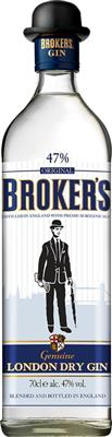 Broker's dry Gin 47% vol.