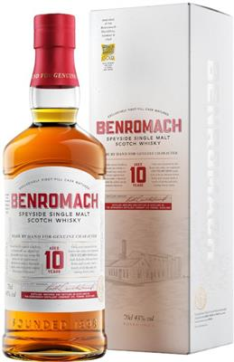 Benromach 10 years old 43%vol.