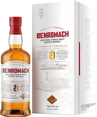 Benromach 21 years old 43% vol