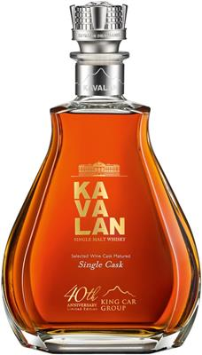 Kavalan 40th Anniversary Edition 56,3% vol